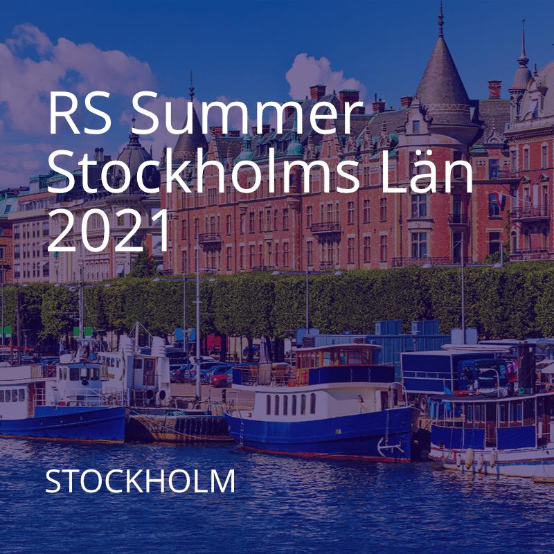 RS Summer Stockholm 2021