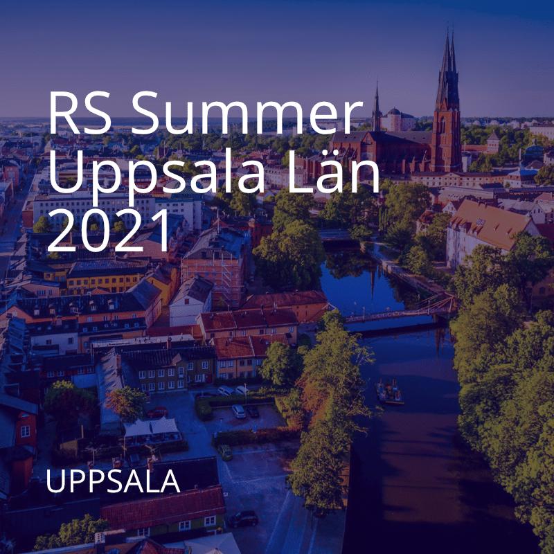 RS Summer Uppsala 2021